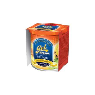 Areon Gel Car Air Freshener - Tutti frutti 80gm