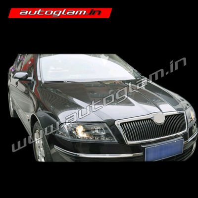 skoda laura 2007 09 projector headlight agsl910hl autoglam. Black Bedroom Furniture Sets. Home Design Ideas