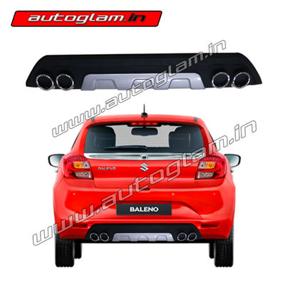 maruti suzuk baleno 2015 rear bumper diffuser autoglam. Black Bedroom Furniture Sets. Home Design Ideas