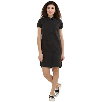 Navy Perforated Tunic