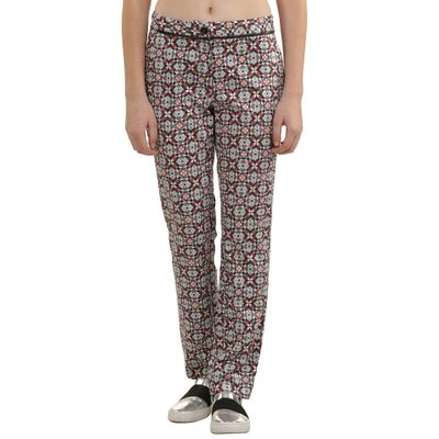 Stain Glass Print Trouser