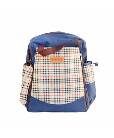 60d064fb5 Polka Tots Diaper Bag with Changing Mat   Diaper BackPack