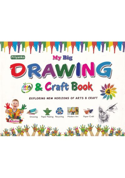 My Big Drawing And Craft Book 5 Galaxy Publication