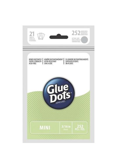 252 Clear Dots - Glue Dots
