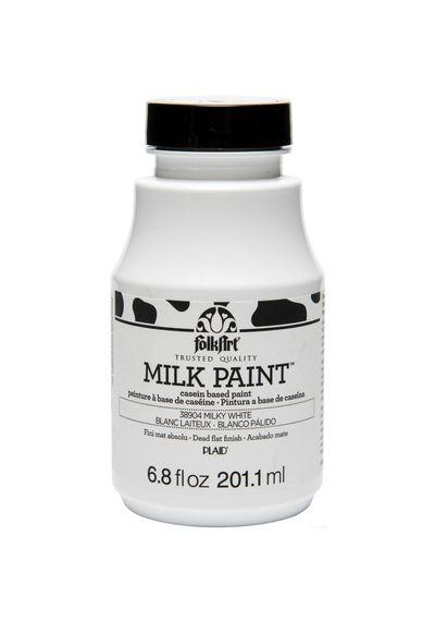 Milky White - FolkArt Milk Paint 6.8oz