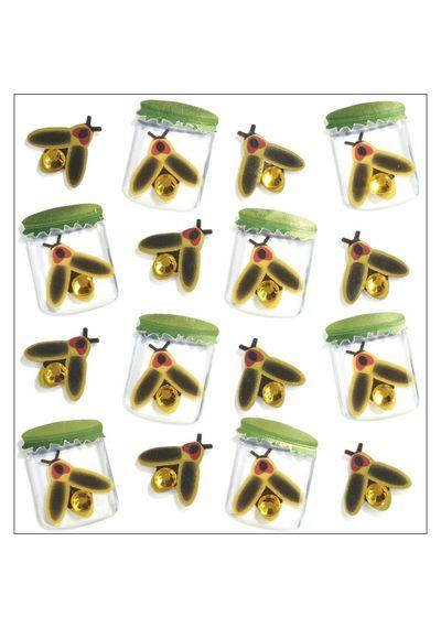 Lightning Bugs Stickers