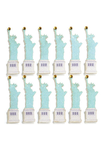 Statue of Liberty Repeats 3D Stickers