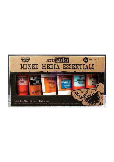 Art Basics Mixed Media Essentials 2 Ounces 6/Pkg