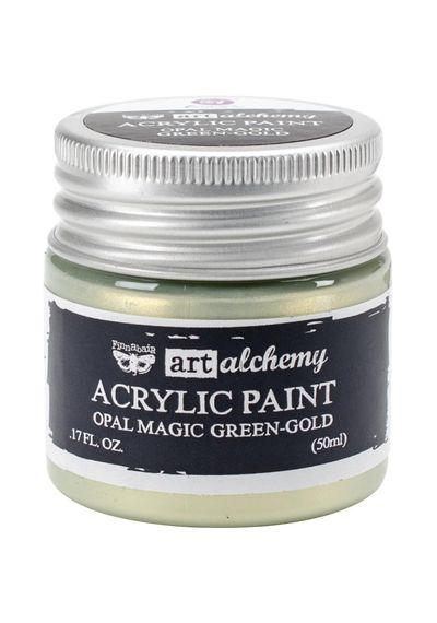 Opal Magic Green/Gold - Art Alchemy Acrylic Paint