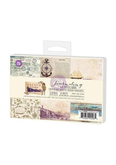 """French Riviera Journaling Cards 4""""X6"""""""
