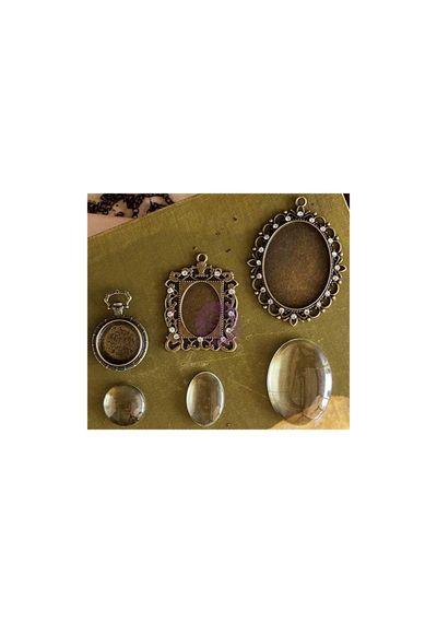 Strasbourg Antique Gold - Memory Hardware Embellishments
