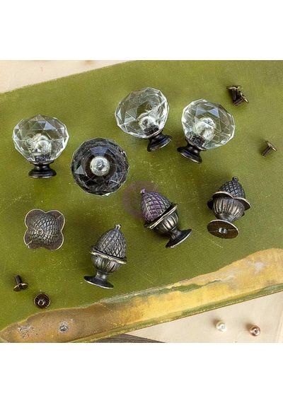 Orleans Antique Knobs - Memory Hardware Embellishments