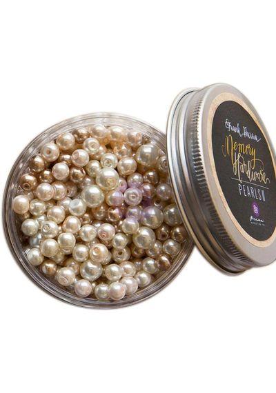 Frank Garcia Memory Hardware Glass Pearls #2 - 7.5oz/3 Sizes