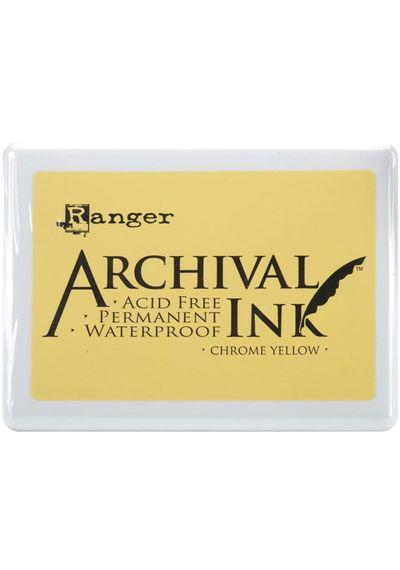 Chrome Yellow - Jumbo Ink Pad
