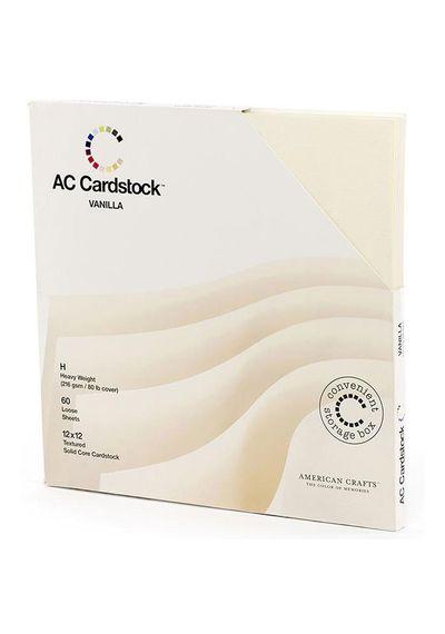 Vanilla - Cardstock