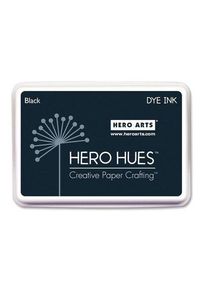 Black Ink Pad - Hero Hues Dye Ink Pad