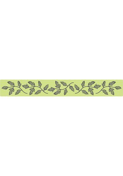 Flourish Leaf Strip - Die