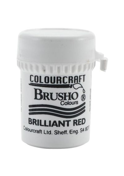 Brusho Crystal Colour 15g - Brilliant Red
