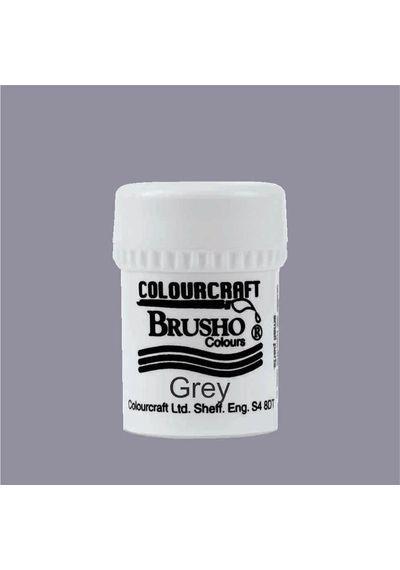 Brusho Crystal Colour 15g - Grey