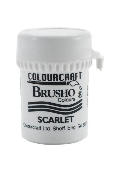 Brusho Crystal Colour 15g - Scarlet