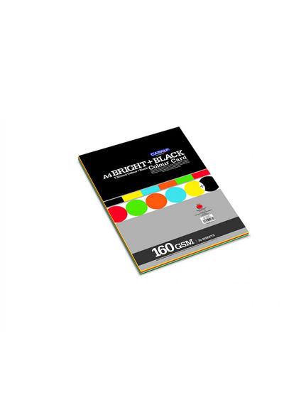 CAMPAP BRIGHT + BLACK COLOR CARD PAPER