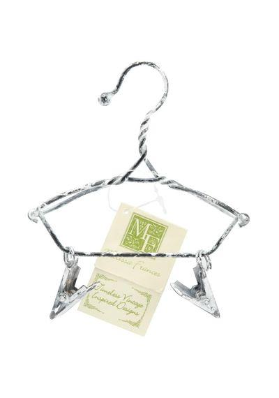 "Decorative Hanger W/Clips 4"""