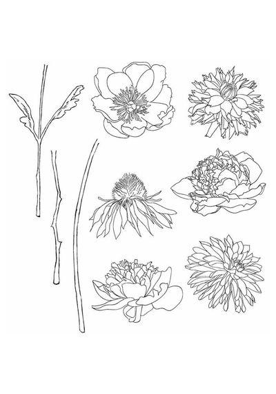 Flower Garden - Stamp