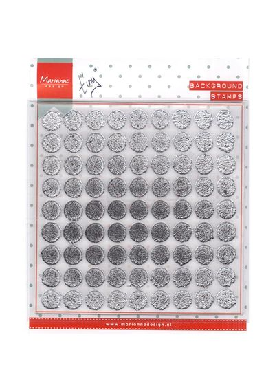 Distressed Dots Tiny's Background Stamp
