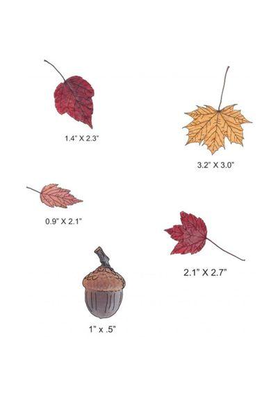 Dimensional Large Leaves #2 - Die