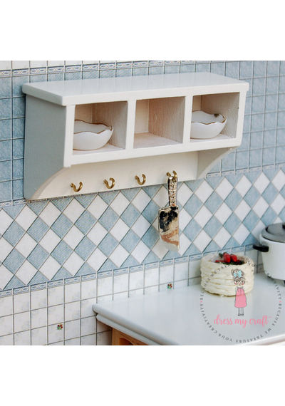 Miniature Bathroom Shelf
