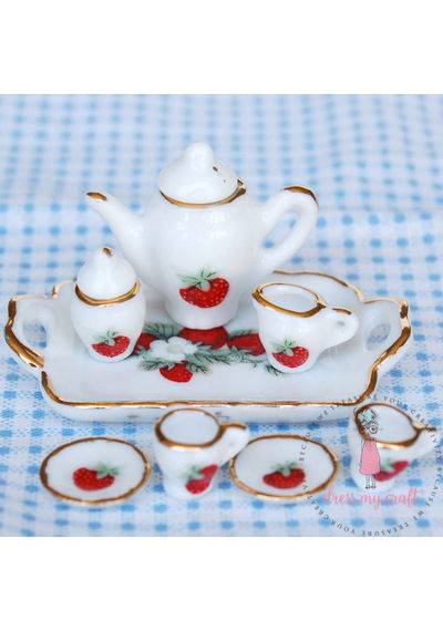 Miniature Tea Set - Small