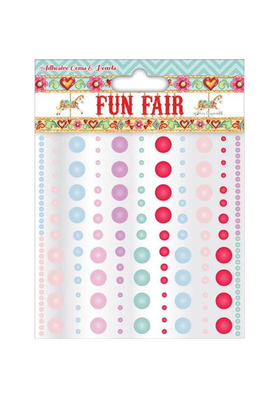 Helz Fun Fair Adhesive Pearls & Gems