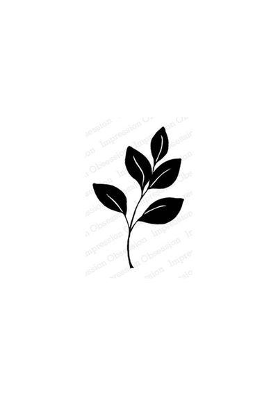 Large Solid Leaf Stem