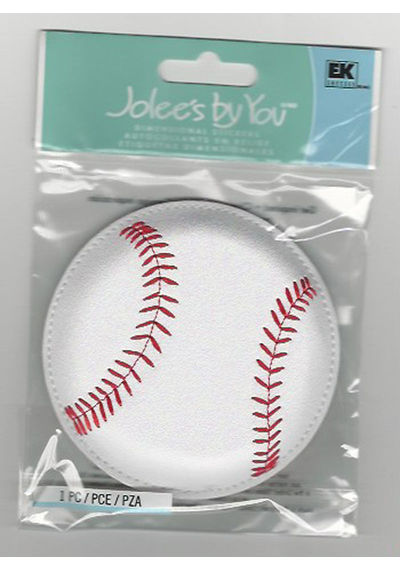 BASEBALL bulky 3D Stickers