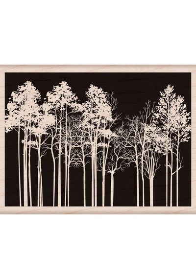 Forest Background - Mounted Rubber Stamps
