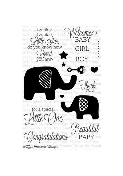 Beautiful Baby - Stamp