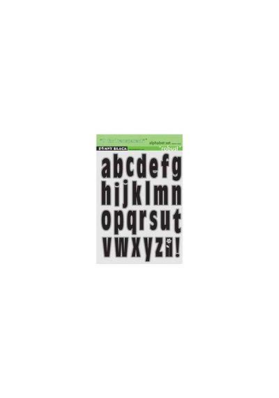 Robust Lower Case Alphabet Set