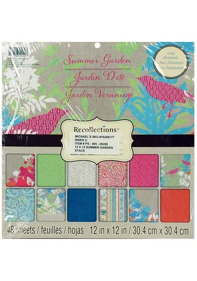 Summer Garden - Recollections Paper Pad
