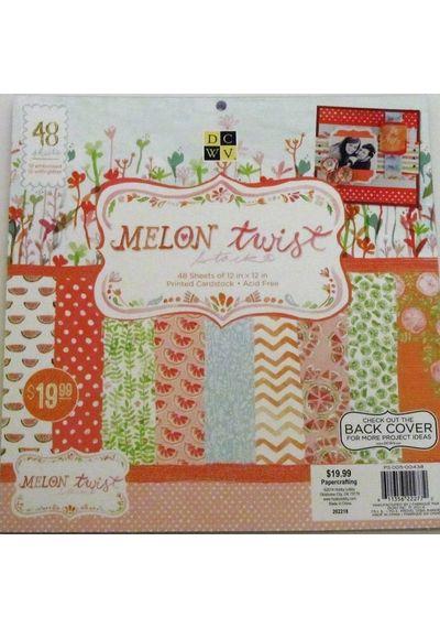 Melon Twist Card Stack