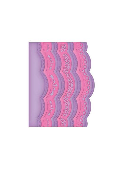 A2 Scalloped Borders One - Die