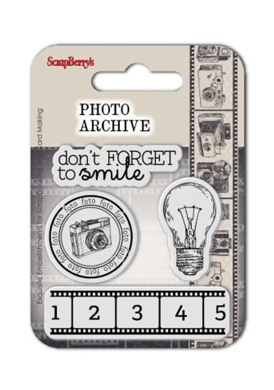 Photo Archive Stamp – Smile