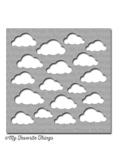Cloudy Day - Stencil