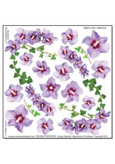 Hibiscus - Printed Plastic sheet