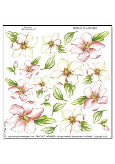 Magnolia - Printed Plastic sheet