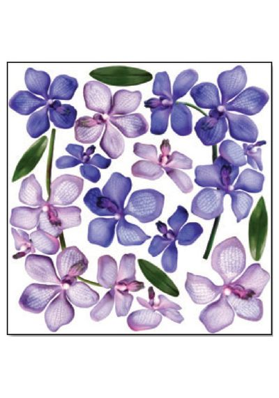 Orchid Branch - Printed Plastic sheet