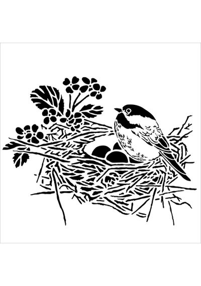 Bird Nest - Stencils