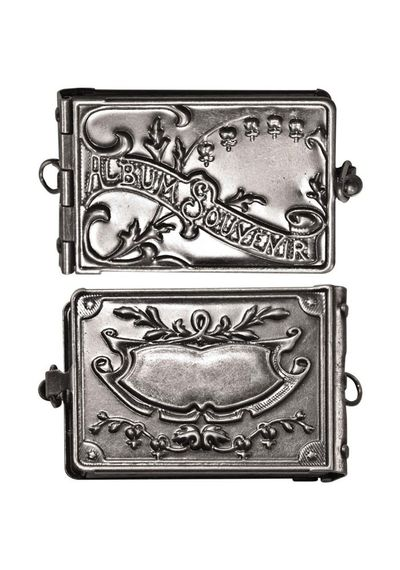 Idea-Ology Locket Book 2 X1 - Antique Nickel