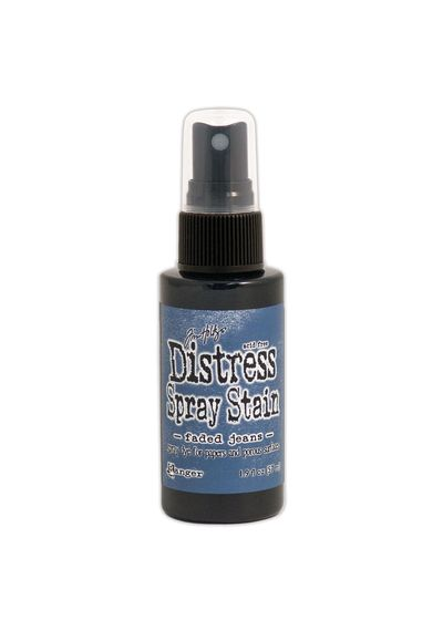 Faded Jeans - Distress Spray Paint