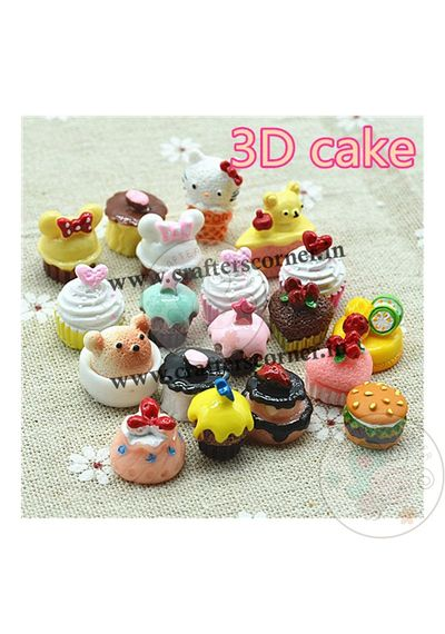 3d Cakes and Pastries