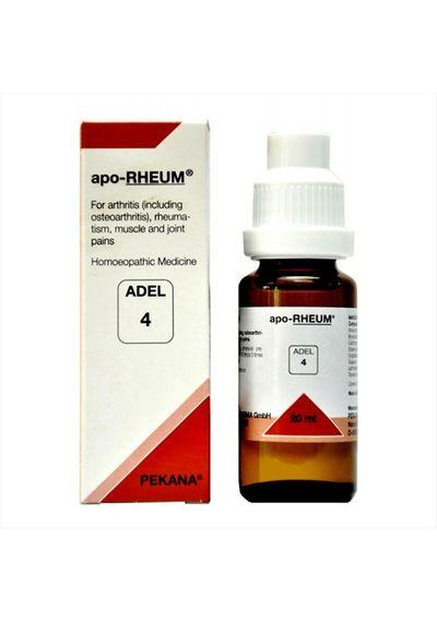 Adel 4 apo-RHEUM drops for symptoms of rheumatoid arthritis-Pack of 3 offer